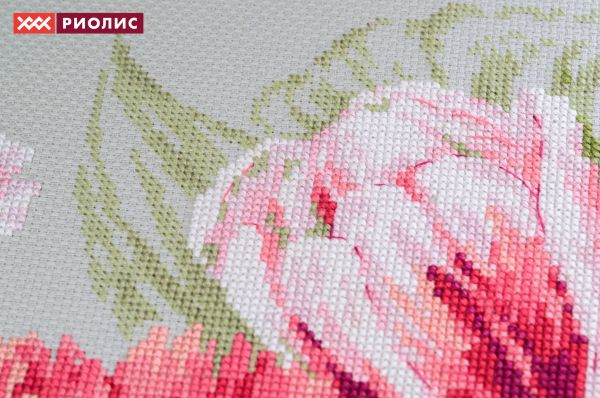 Вышивка тюльпан от риолис 505