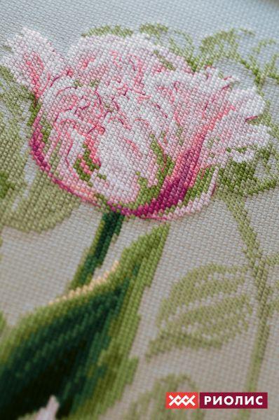 Вышивка тюльпан от риолис 28