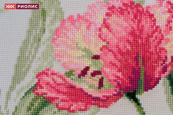 Вышивка тюльпан от риолис 374