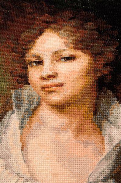 вышивка крестом Портрет