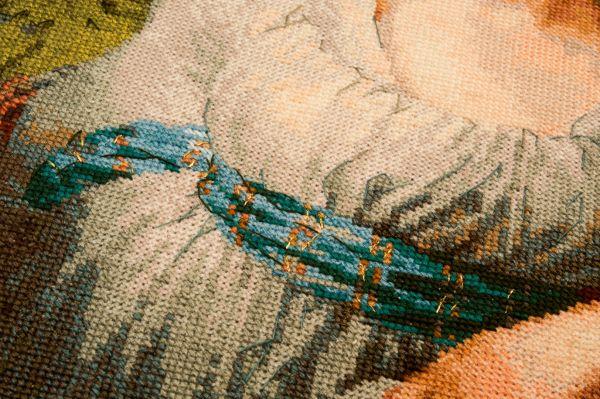 Схемы вышивки по репродукциям