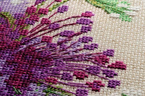 Вышивка шерстью схемы