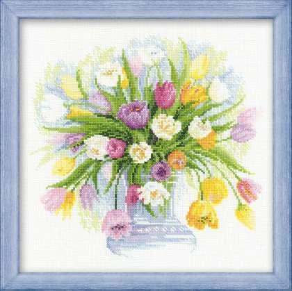 Вышивка тюльпан от риолис 786