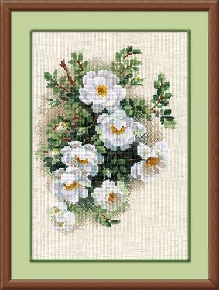 Вышивка крестом цветочные композиции