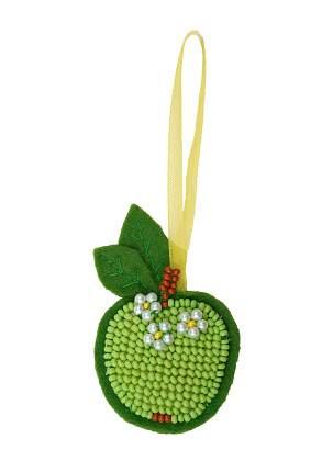 набор для рукоделия зеленое яблоко