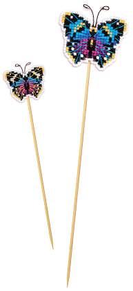 украшения для цветочных горшок Бабочка