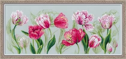 Вышивка тюльпан от риолис 941