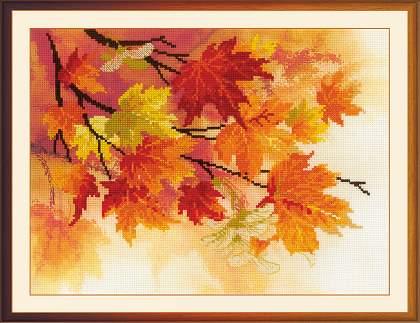 Набор для вышивки крестом осень