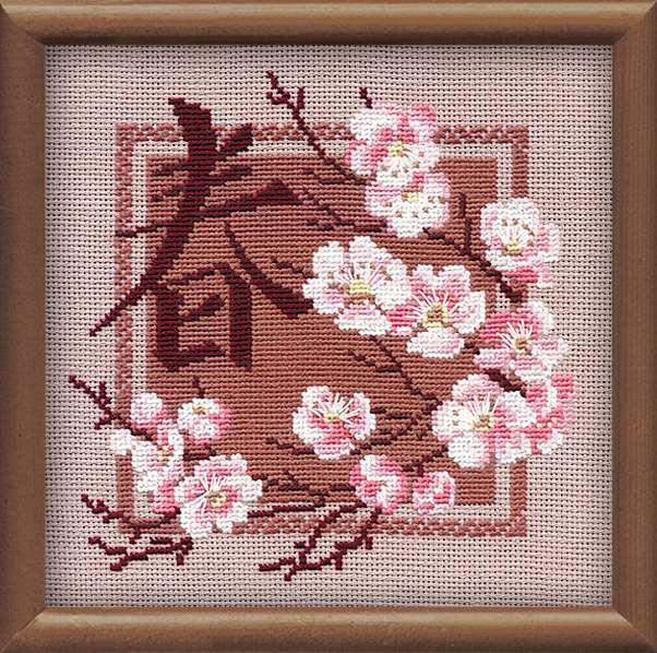 """набор для вышивания крестом """"Весна"""""""