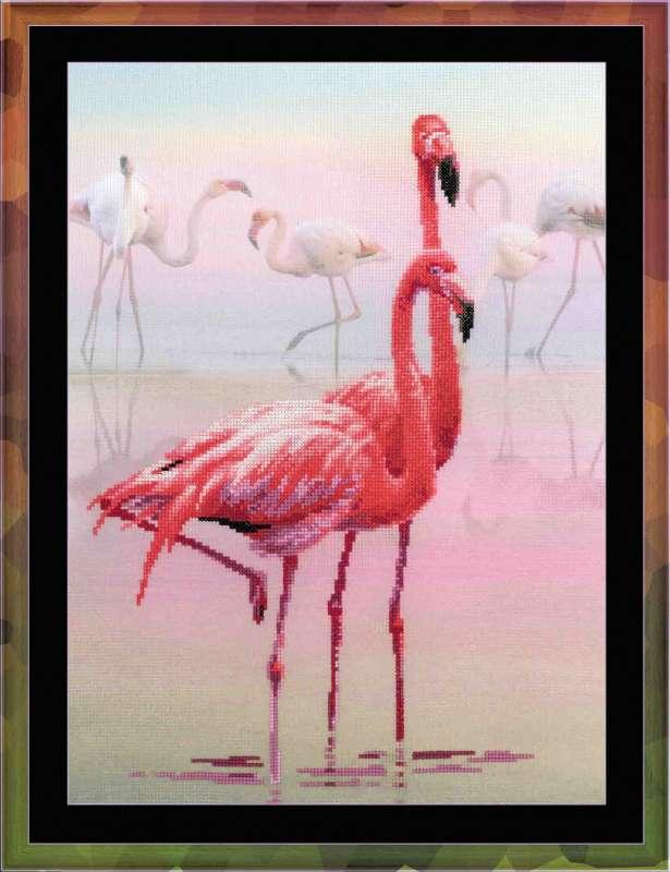 Вышивка фирма фламинго
