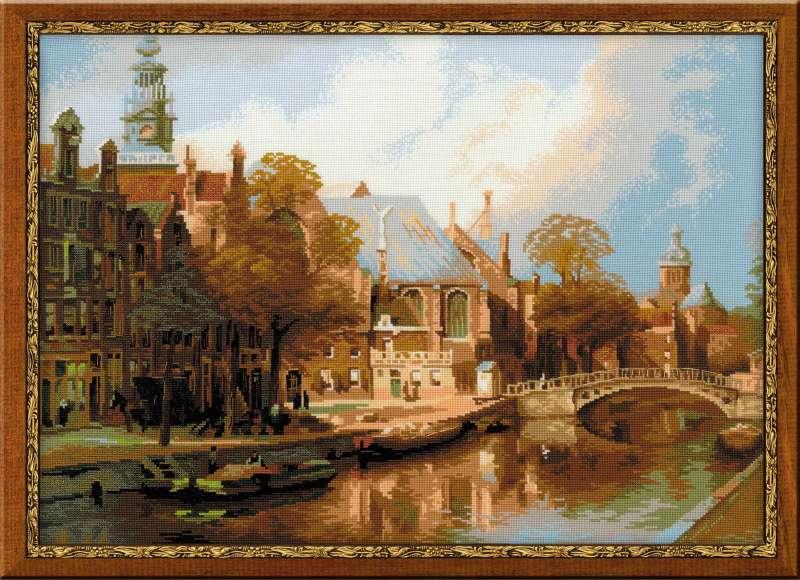 городские пейзажи амстердам