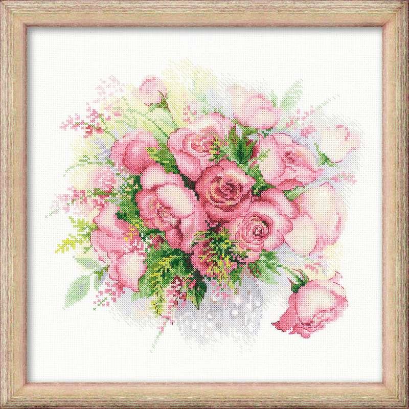 Риолис вышивка тюльпаны схема