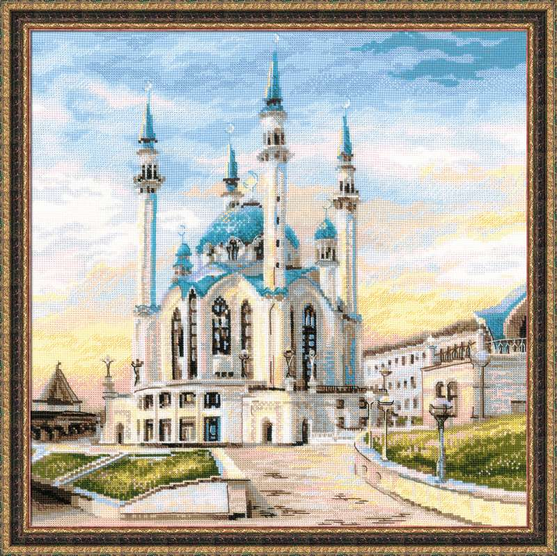 вышивка мечеть кул шариф