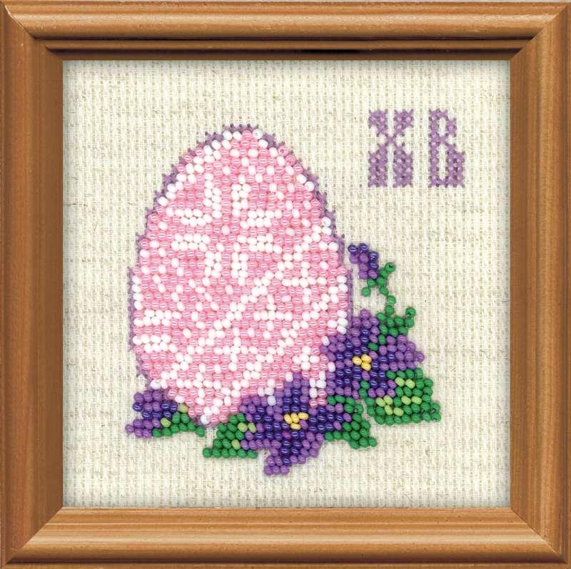 Вышивка крестом Пасхальное яйцо