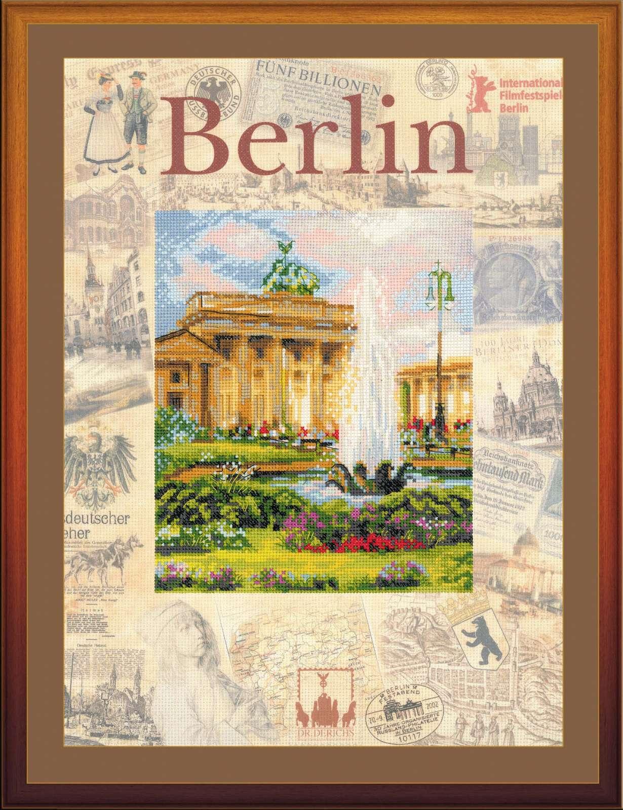 вышивки города мира берлин