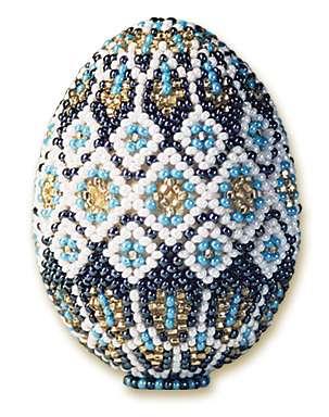 набор для бисероплетение Яйцо пасхальное