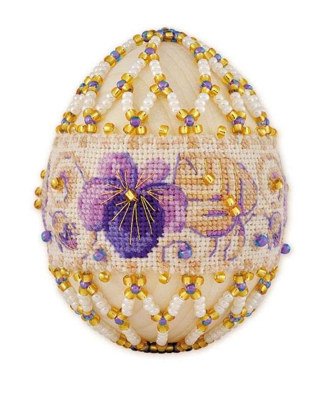 яйцо пасхальное Фиалка