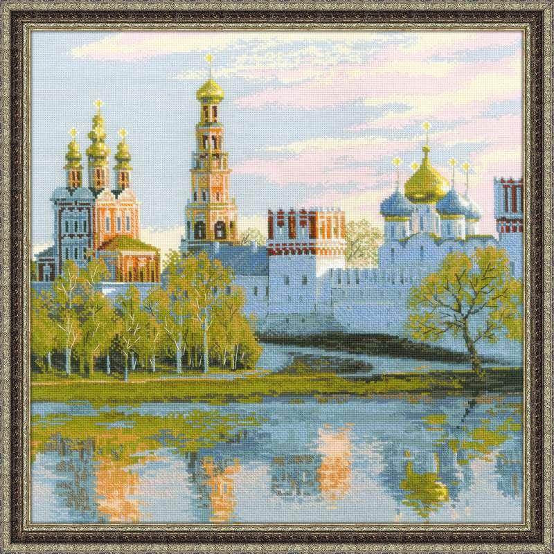 набор для вышивания крестом новодевичий монастырь