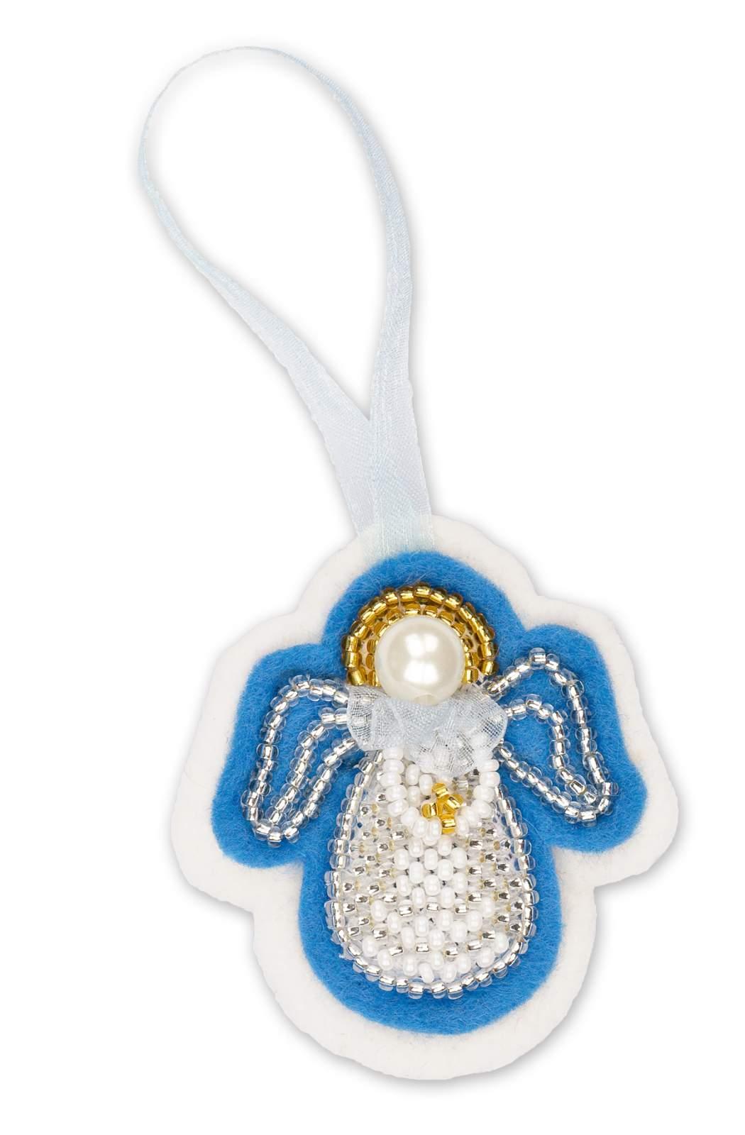 набор для создания новогодней игрушку ангел