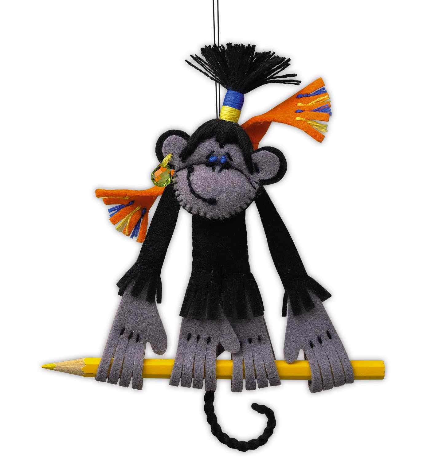 набор для рукоделия обезьянка