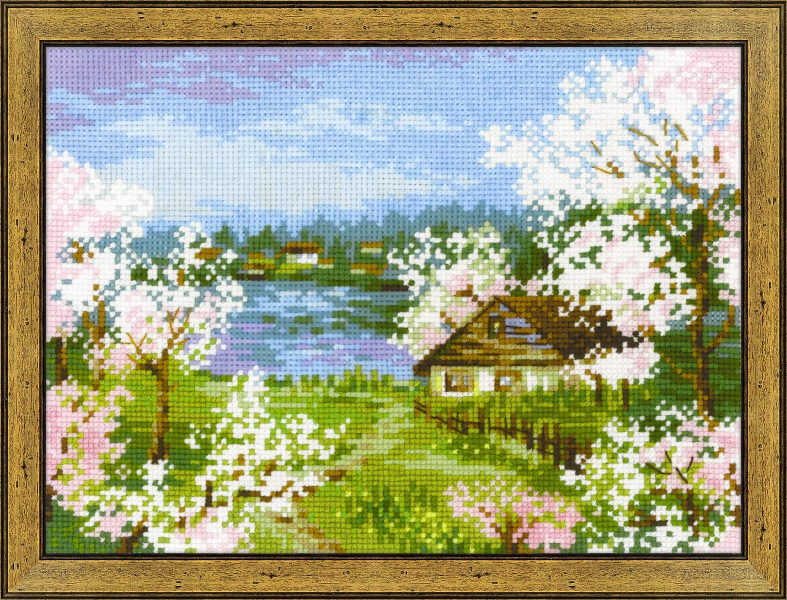 Цветы садов и полей