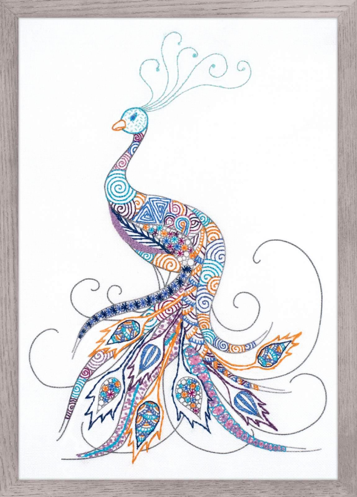 Птица удачи цвет