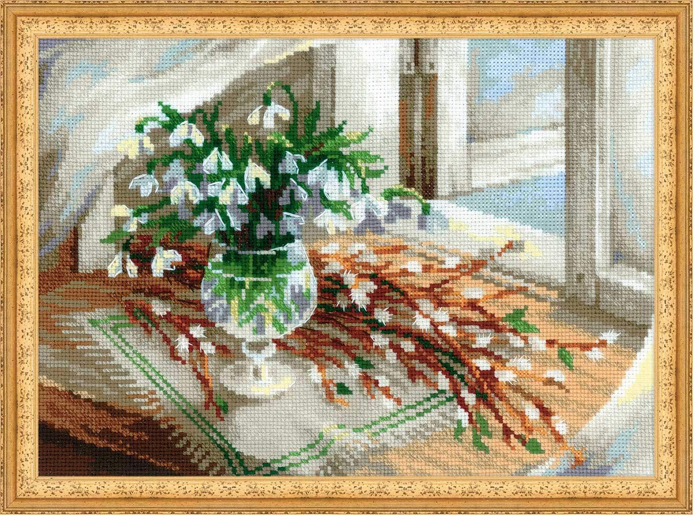 набор для вышивания крестом пасхальный